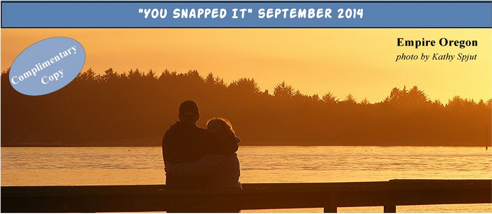 You Snapped it banner September 2014 resize