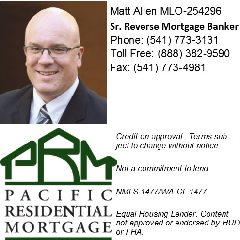 Matt Allen Pacific Residential Mortgage