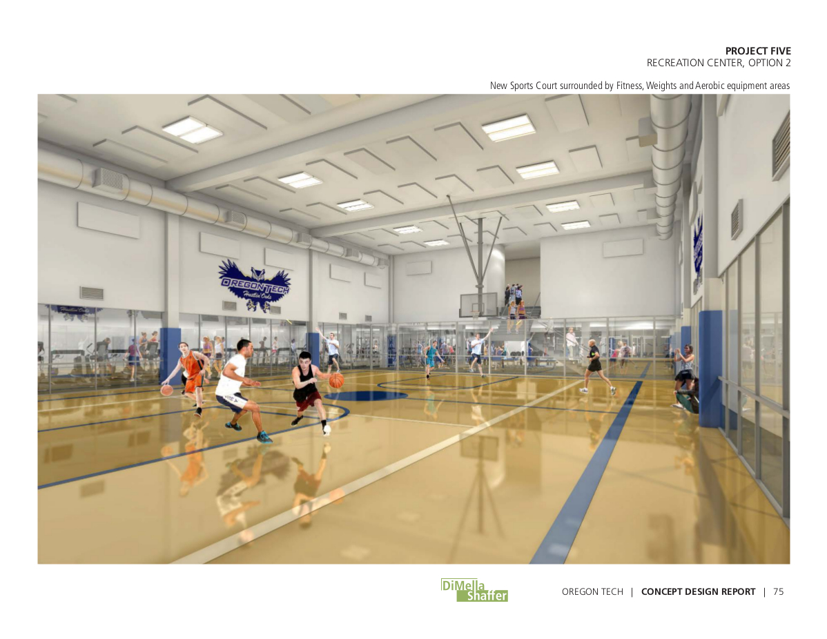 Proposed Recreation Center Remodel