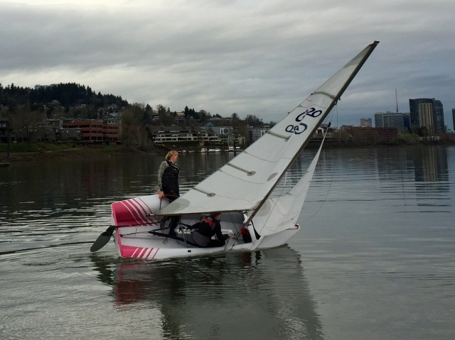 WSC's Zim C-420s Are Here – oregon youth sailing foundation