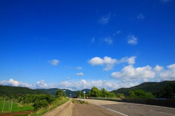 【100日目】田んぼと山と青い森《2014/06/24》