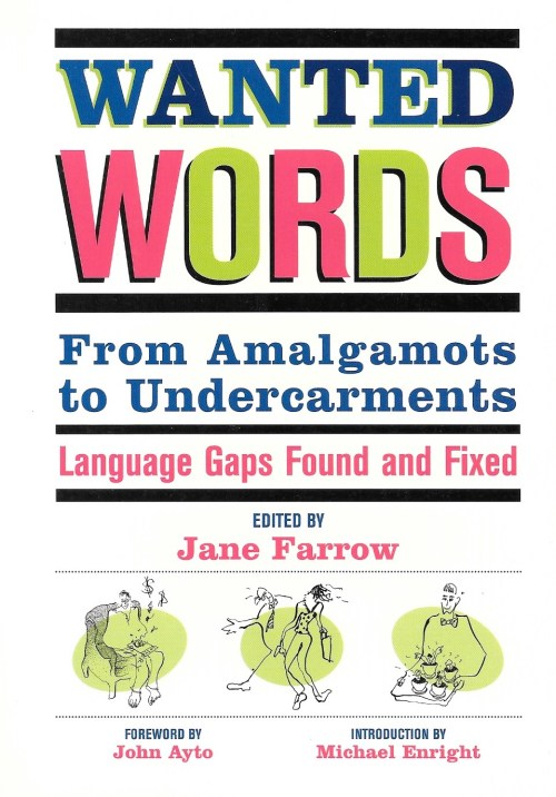 Jane Farrow, Wanted Words, 2000, couverture