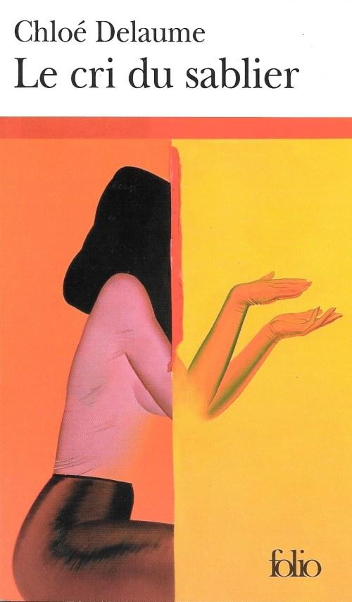 Chloé Delaume, la Cri du sablier, éd. de 2003, couverture