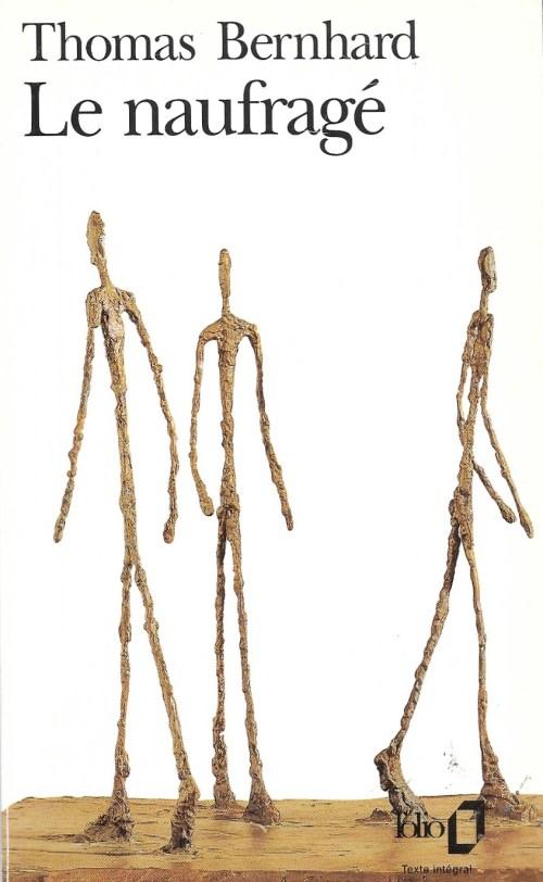 Thomas Bernhard, le Naufragé, 1993, couverture