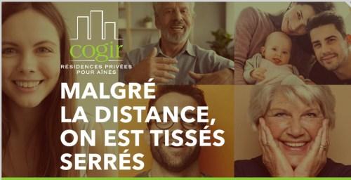 «Tissés serrés», publicité, mars 2020