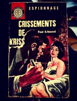 P. Nouvel, Crissements de Kriss, couverture