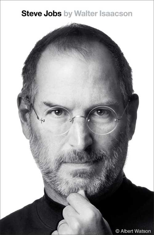 Walter Isaacson, Steve Jobs, 2011, couverture
