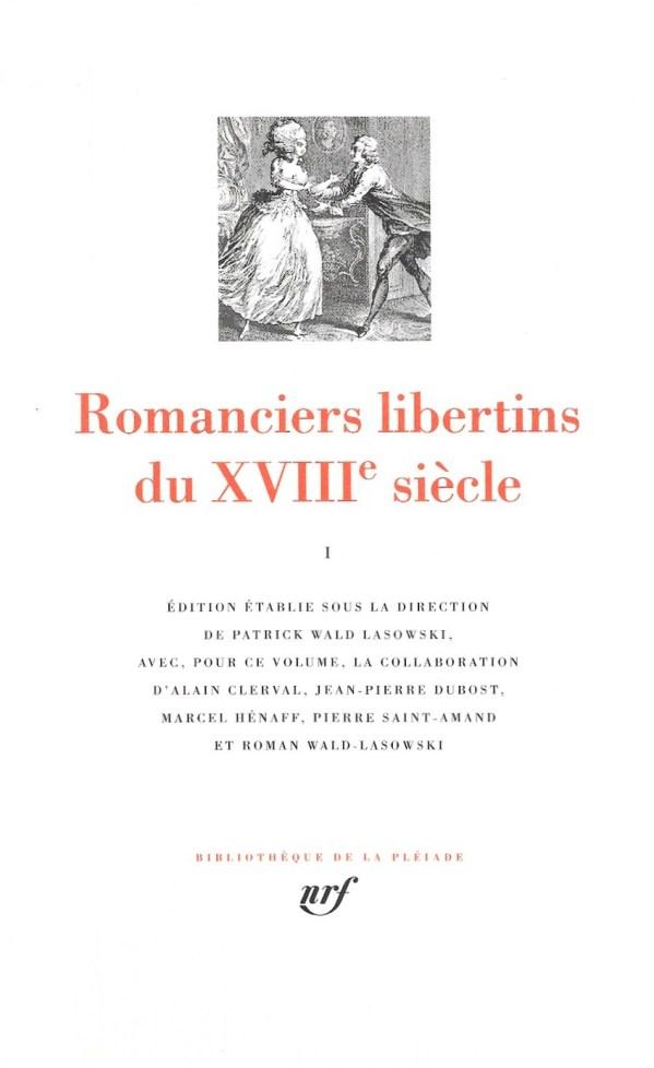 Prince de Ligne, Suite d'«Apprius» (vers 1788), dans Romanciers libertins du XVIIIe siècle. I, 2000, couverture