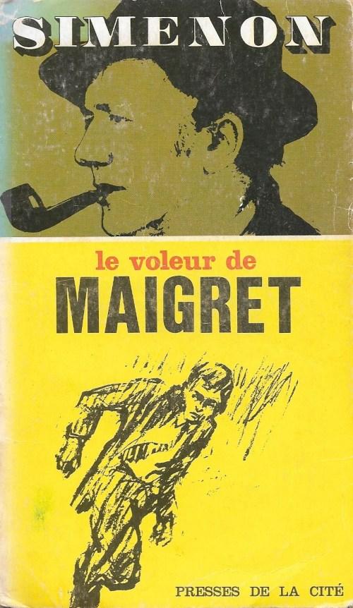 Simenon, le Voleur de Maigret, 1967, couverture