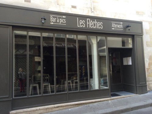 Bar à pics, rue de l'Arbalète, Paris 5e