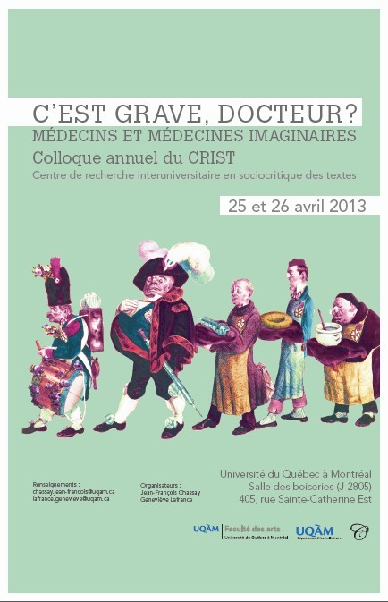 Colloque, CRIST, UQAM, 25-26 avril 2013