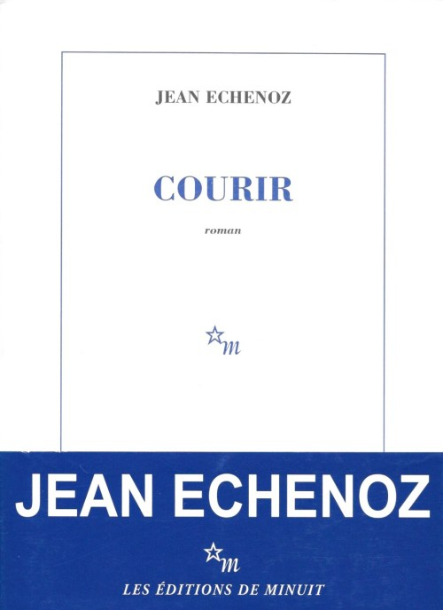 Jean Echenoz, Courir, 2008, couverture