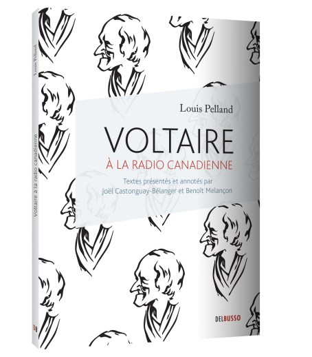 Voltaire à la radio canadienne (2013), couverture