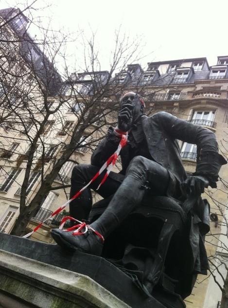 Denis Diderot, boul. Saint-Germain, Paris