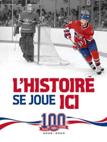 Canadiens de Montréal, campagne de publicité, 2009