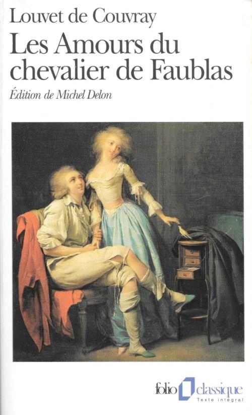 Jean-Baptiste Louvet de Couvray, les Amours du chevalier de Faublas, éd. de 1996, couverture
