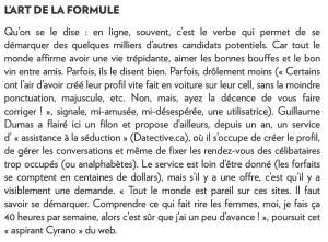 Cyrano sur le Web