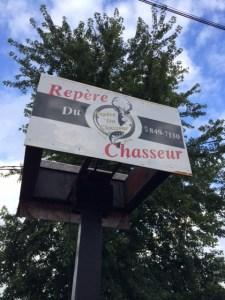 Repère ou repaire ? (Coaticook, Québec, août 2014)