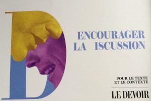 Publicité dans la revue l'Inconvénient, automne 2014