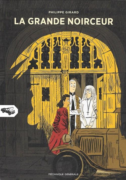 Philippe Girard, la Grande Noirceur, 2014, couverture
