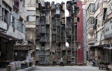 Alep, Syrie, 2015