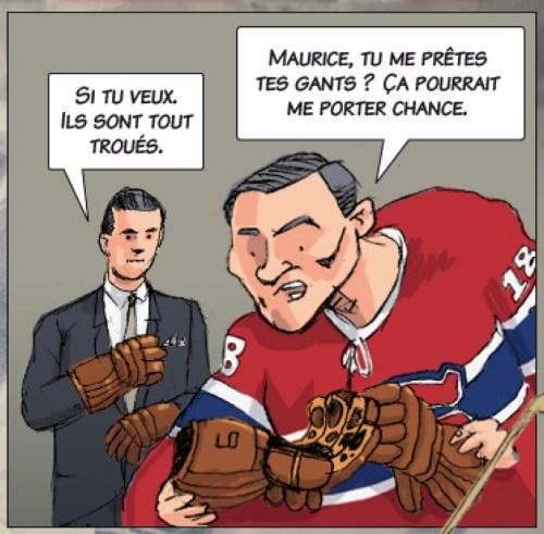 Rivest, André, «Les gants magiques», la Presse+, 3 mai 2015