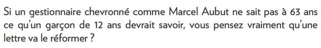 Yves Boisvert, la Presse+, 3 octobre 2015