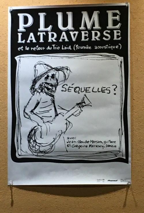 Spectacle «Séquelles ?», 2019, affiche