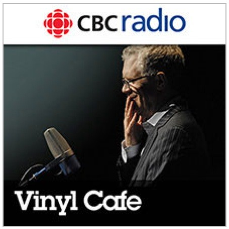 Logo de l'émission de radio The Vinyl Cafe