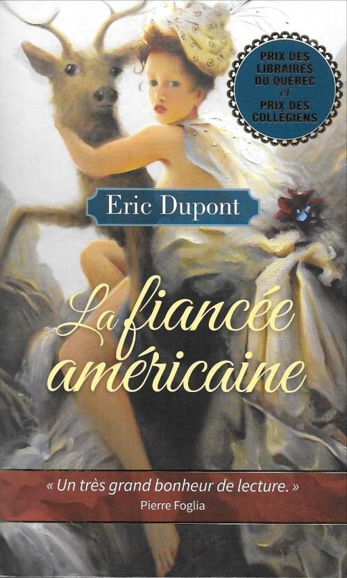 Éric Dupont, la Fiancée américaine, 2015, couverture