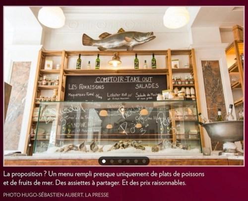 Ceci n'est pas un menu, la Presse+, 25 juin 2016