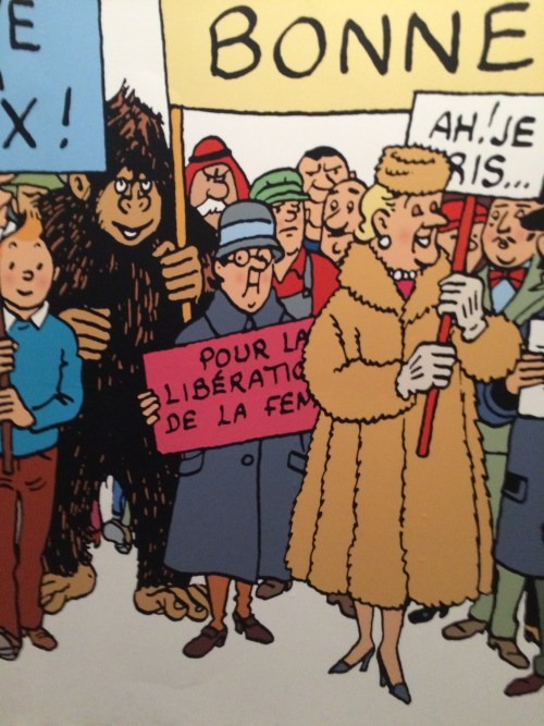 Exposition Hergé, Grand Palais, Paris, novembre 2016