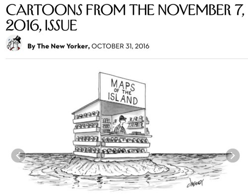 Caricature, The New Yorker, numéro du 7 novembre 2016
