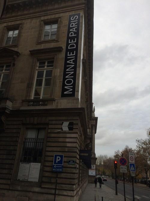 Monnaie de Paris, novembre 2016