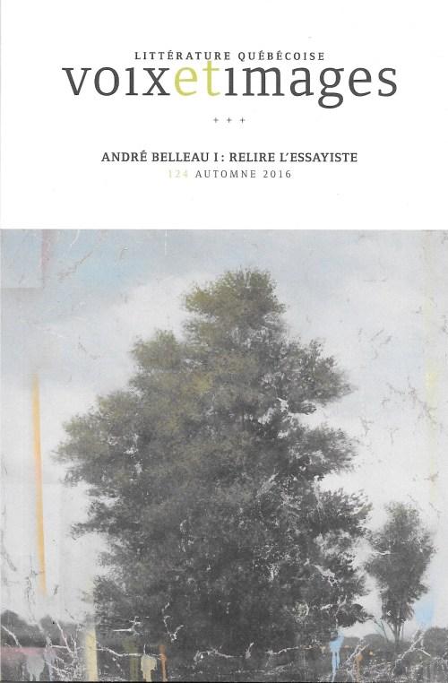 Dossier «André Belleau» de Voix et images, couverture