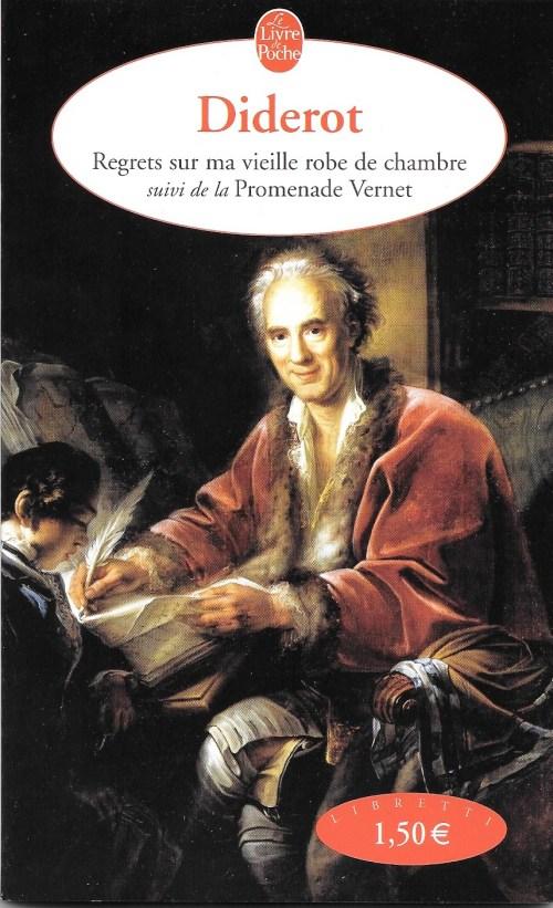 Diderot, Regrets sur ma vieille robe de chambre, édition de 2004, couverture