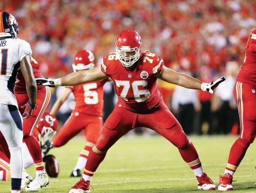 Portrait de Laurent Duvernay-Tardif par Chris Donahue