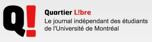 Logo du journal étudiant le Quartier libre