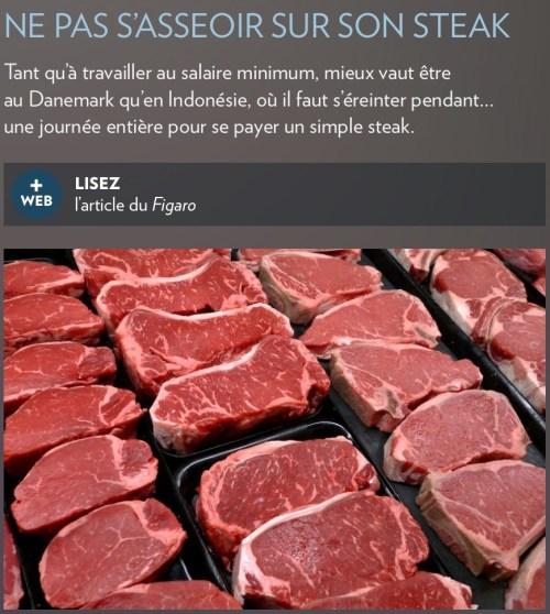 «Ne pas rester assis sur son steak», la Presse+, 26 août 2017