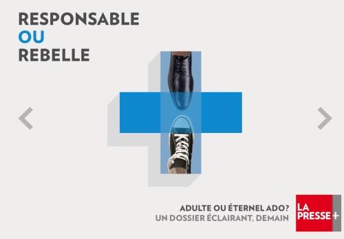 «Rebelle», dans La Presse+, 17 novembre 2017