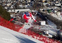 Piste de ski La Streif, Kitzbühel, Autriche