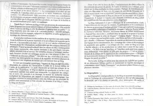 Livre annoté à la bibliothèque de l'Université de Montréal