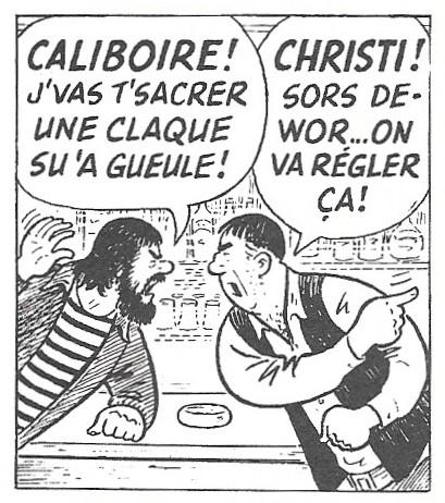 Albert Chartrier, «Onésime», juin 1983, détail