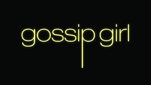 Logo original de la série télévisée Gossip Girl