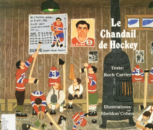 Roch Carrier, le Chandail de hockey, éd. de 1984, couverture