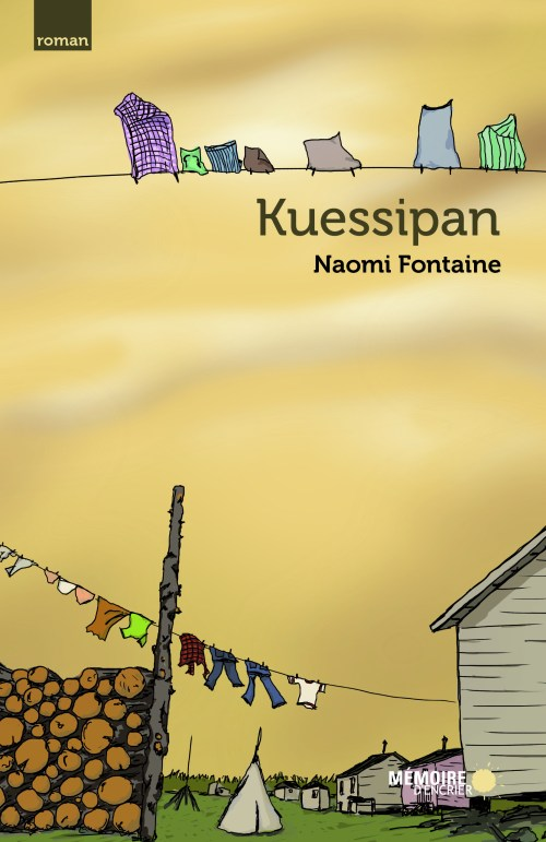 Naomi Fontaine, Kuessipan, couverture
