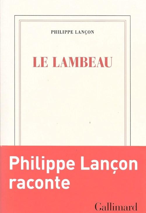 Philippe Lançon, le Lambeau, 2018, couverture