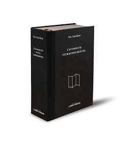 Éric Chevillard, l'Autofictif ultraconfidentiel, 2018, couverture