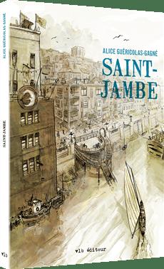 Alice Guéricolas-Gagné, Saint-Jambe, 2018, couverture