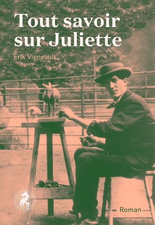 Érik Vigneault, Tout savoir sur Juliette, 2018, couverture